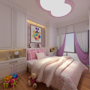 绿景虹湾 现代风格 儿童房装修效果图