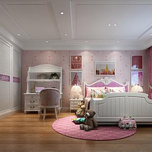 欧式风格 儿童房装修效果图 复式装饰