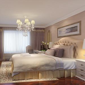 棕榈泉国际公寓-简欧-女儿房