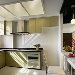 丽湾国际现代简约135㎡厨房效果图
