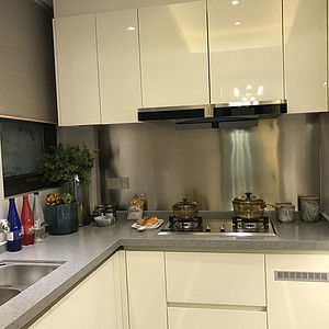 时代天街北欧140㎡厨房装修效果图