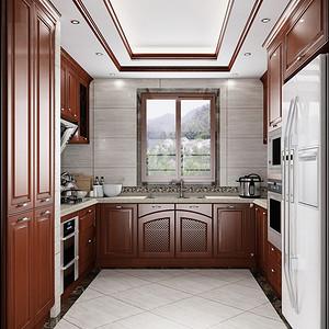 欧式风格 厨房装修效果图 复式装饰