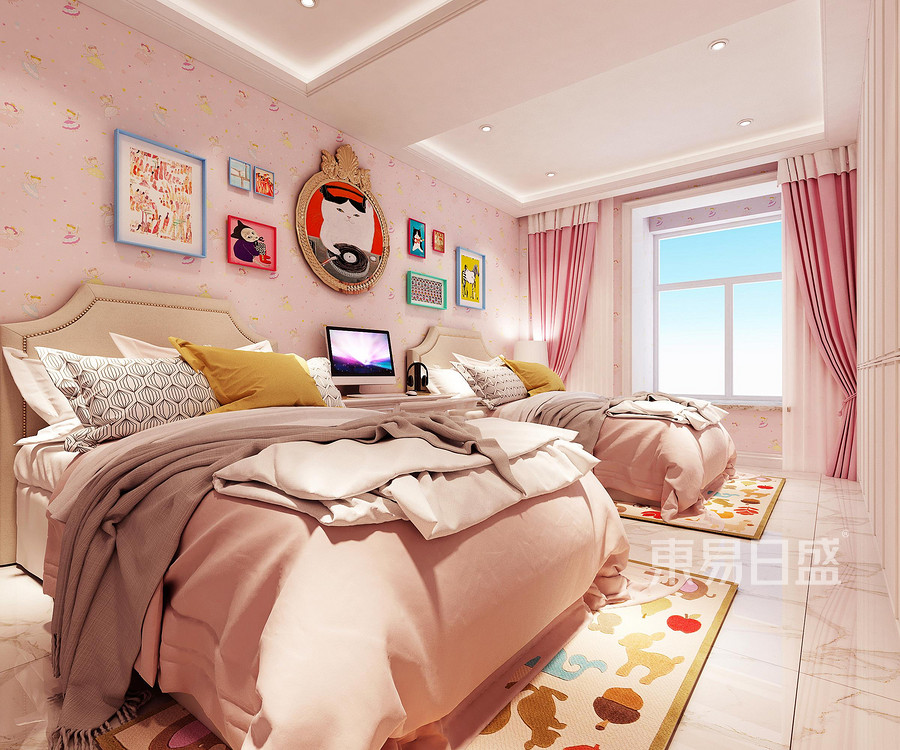 麦积小镇小区现代简约风格卧室装修效果图