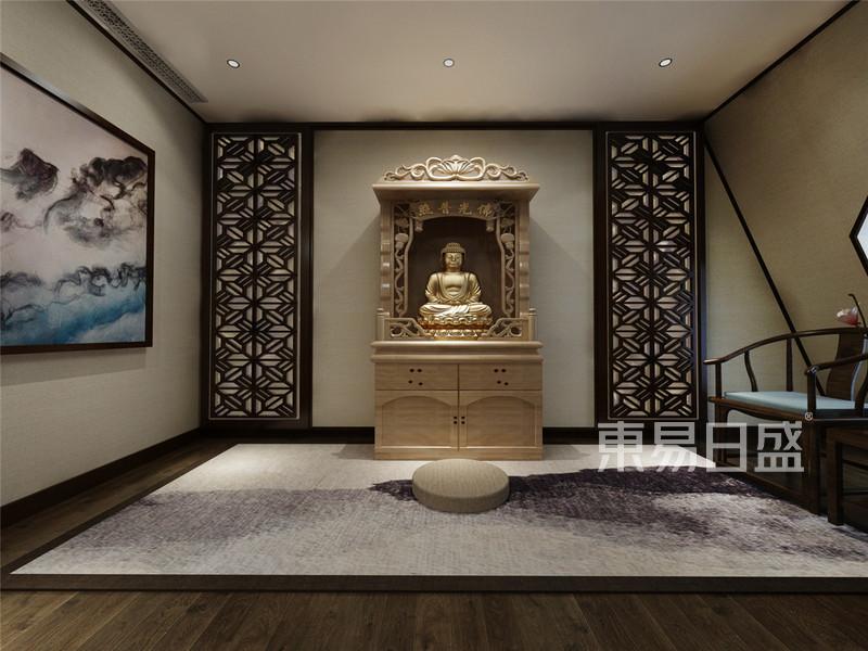 欧式古典 - 富力津门湖欧式风格阁楼佛堂装修效果图