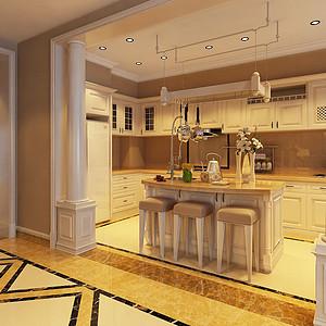 大连法式装修-厨房