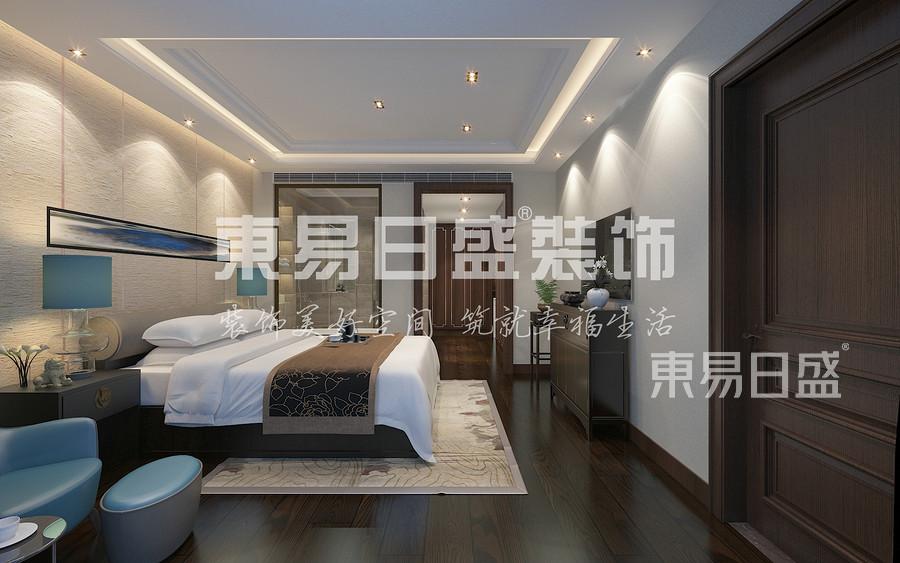 禅意风格-卧室-装修效果图
