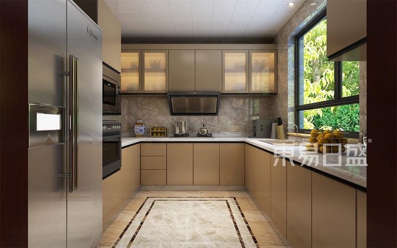 新中式-厨房效果图_装修效果图大全2018图片 1173947