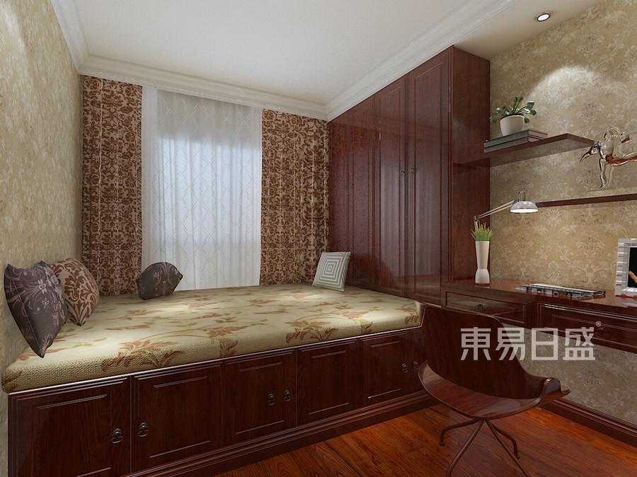 东城中惠卡丽兰四居室新中式榻榻米装修效果图