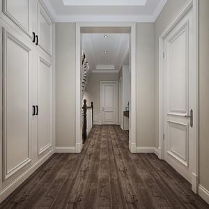 现代美式风格楼梯间装修效果图