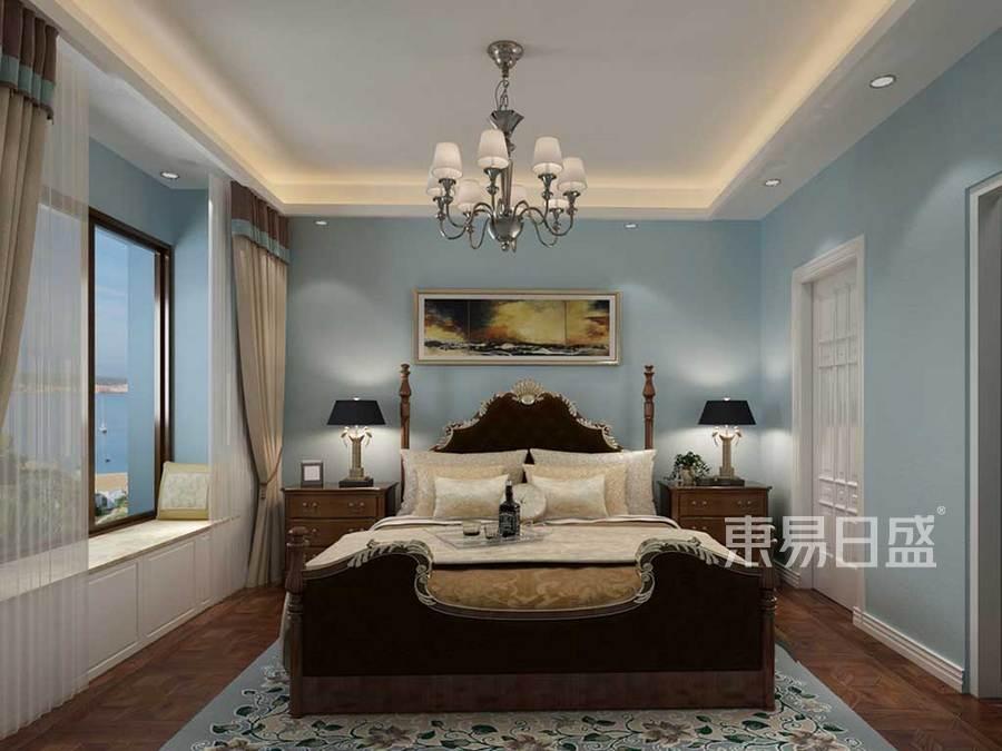 卧室色调柔和,温馨