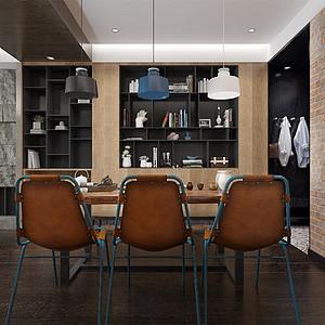 loft风格-餐厅