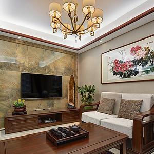 扬州装修 东易日盛装饰 新中式案例