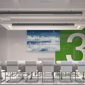 现代简约-二层培训教室