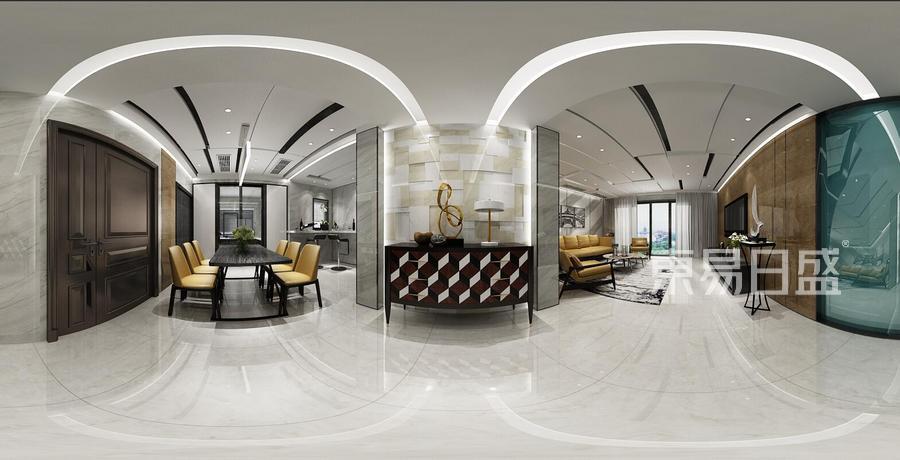 客厅-现代简约-效果图