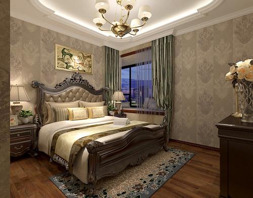 135平简欧风格三室两厅装修图-碧桂园