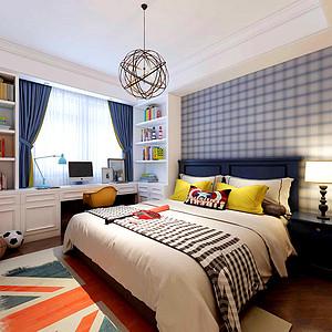 温馨美式风格卧室