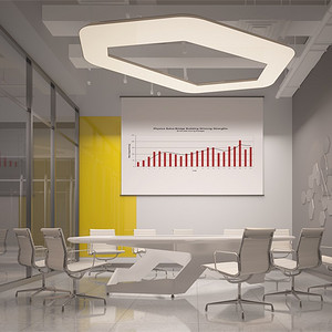 现代简约-二层小会议室