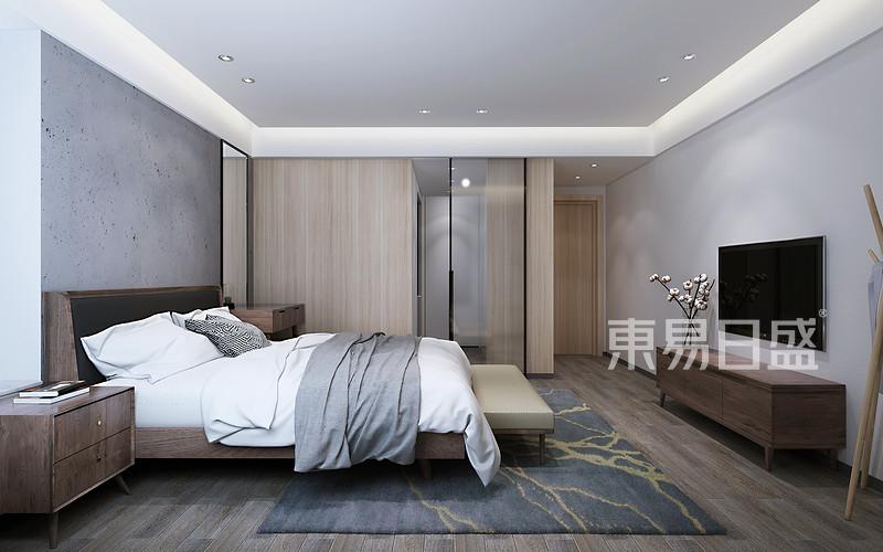 现代风格主卧室装修