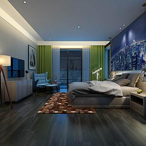 金泰山庄 现代轻奢 卧室装饰