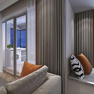 金沙泊岸现代简约风格客厅装修效果图