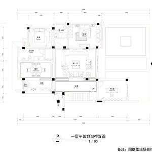 林海尚城 新中式风格 户型图
