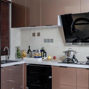 君临海域-港式风格-厨房装修效果图