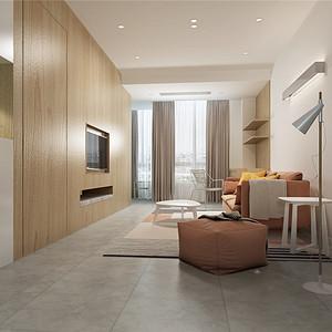 碧桂园君悦豪庭86平北欧风格设计装修效果图