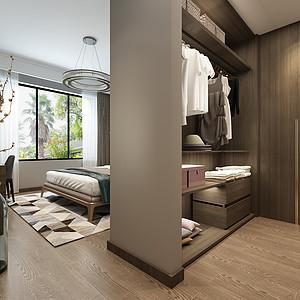 现代前卫装修风格卧室效果图