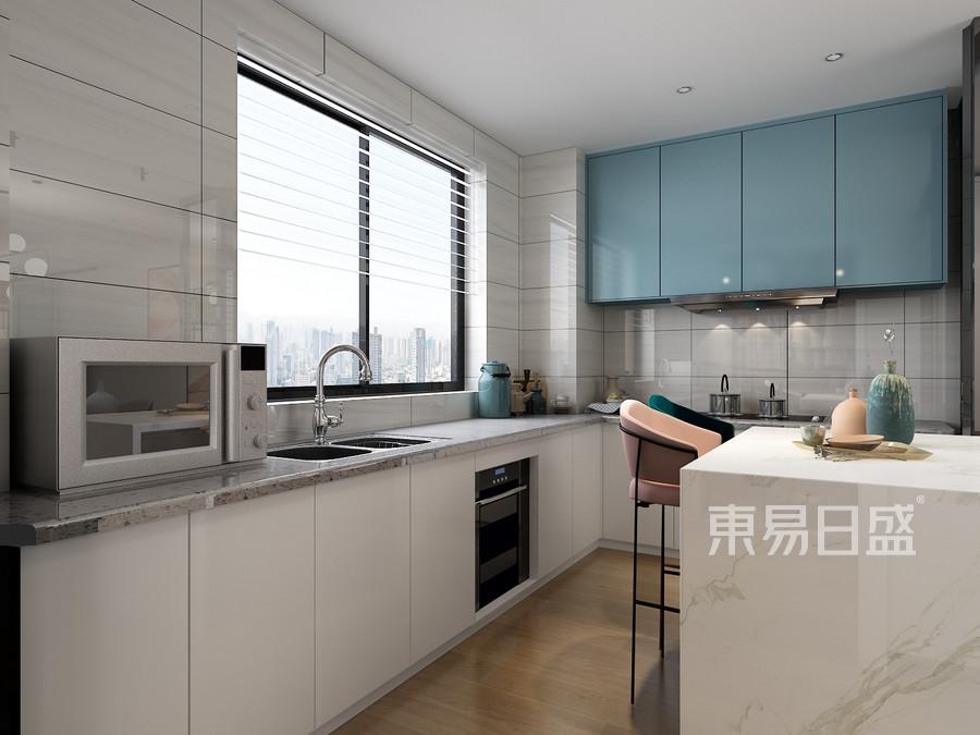 四居室-北欧-厨房-效果图