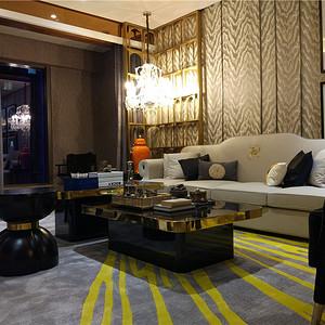 上海斯亚首府-220平米-现代时尚装修效果图