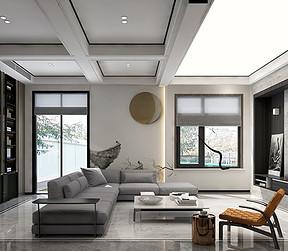西山艺境-一层客厅