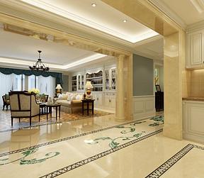 普通住宅-欧式古典-效果图