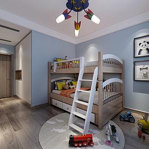 现代简约风格儿童房