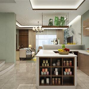 第8页 新中式厨房装修效果图 新中式厨房装修图片 东易日盛装修效果图