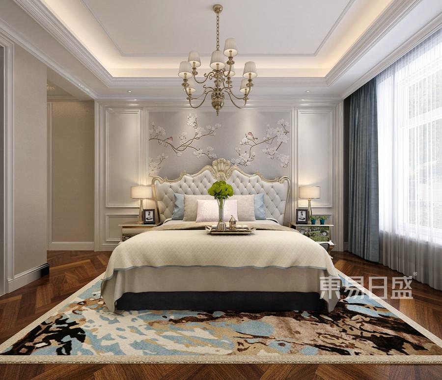 欧式新古典风格-客卧-装修效果图