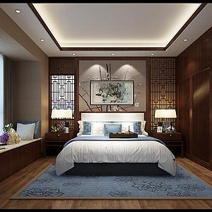 香克林 新中式 卧室装饰