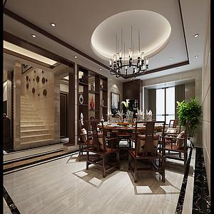 香克林 新中式 餐厅装饰
