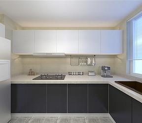 融创中心现代风格厨房装修效果图