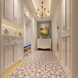 勤诚达22世纪 7栋1901户型 简欧风格 175平米 四房两厅装修效果图