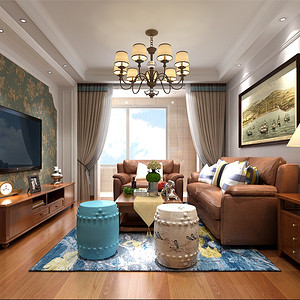 小美式-客厅