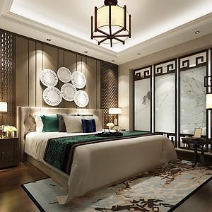 颐源居 新中式 卧室装饰
