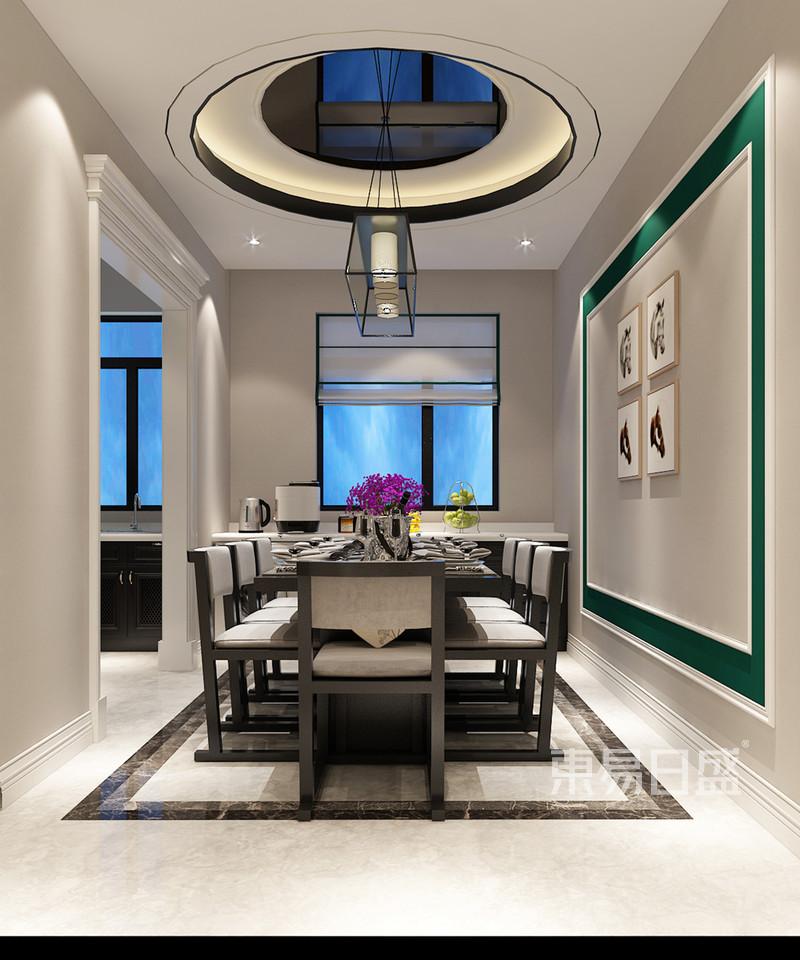 现代简约 - 餐厅装修效果图-现代简约中式风格