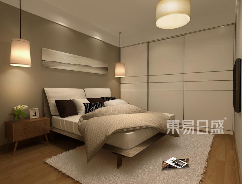 卧室效果图-北欧