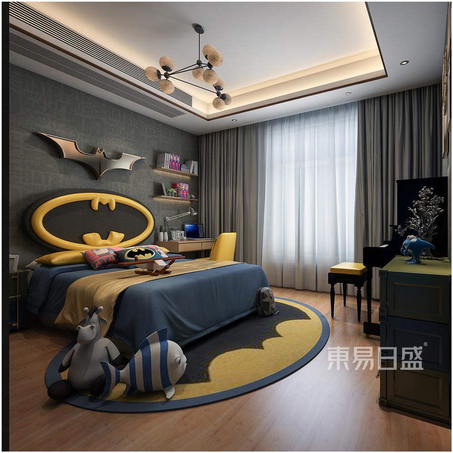 雅颂居中式风格儿童房装修效果图