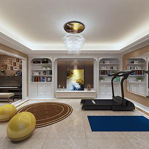 柜体与家居形成统一的贵族式风格