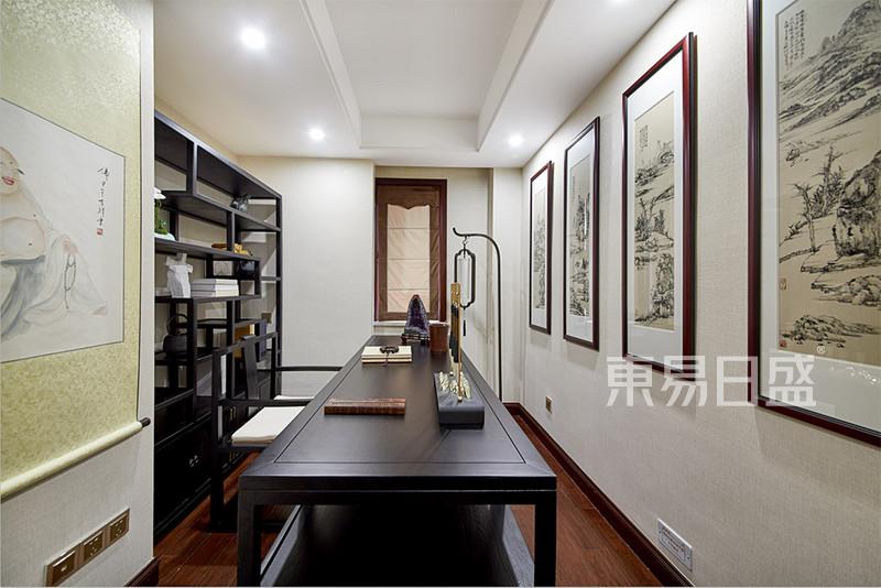 新中式别墅实景图,