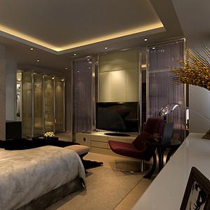 卧室现代简约装修效果图-第1643页 卧室装修图片 卧室家装图片 卧室