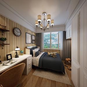 中央洋房150平法式风格平层儿童房