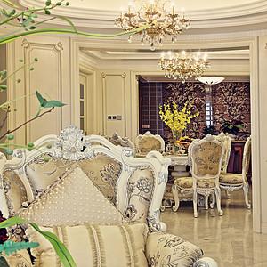 式元素和空间氛围,推崇优雅高贵和浪漫