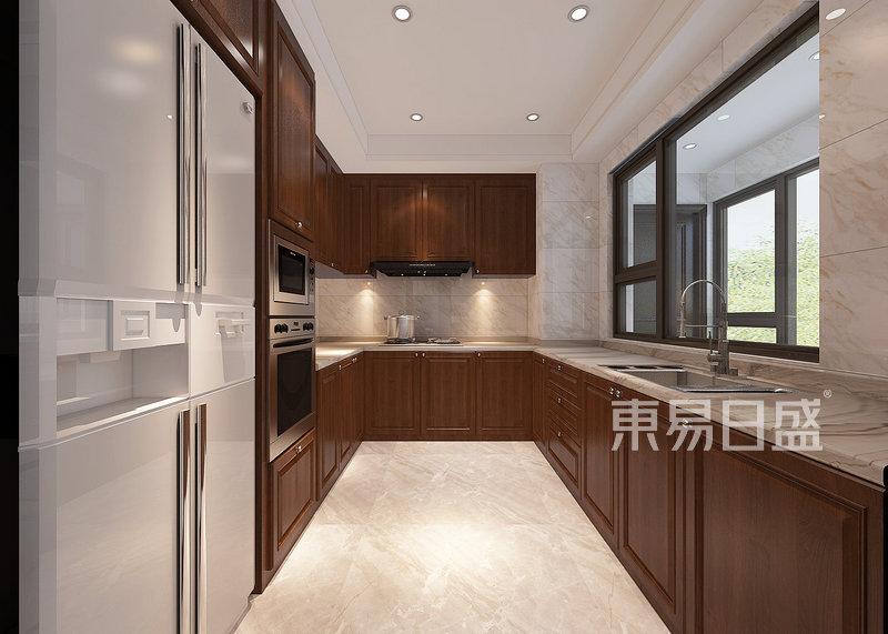 新中式-厨房效果图_装修效果图大全2018图片 1188880